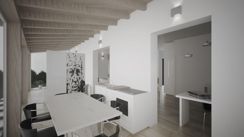 Rendering Soggiorno Abitazione Privata - ml3D - Esperto Rendering 3D ...