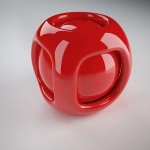 modellazione 3d e rendering, materiali 3d plastica