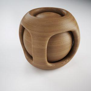 modellazione 3d e rendering, materiali 3d legno
