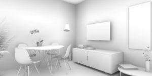 modellazione 3d e rendering, illuminazione 3d