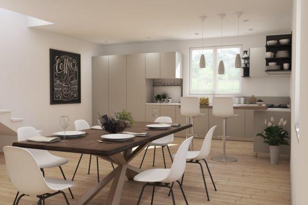Modellazione 3D & Rendering Appartamento Guidonia – Roma